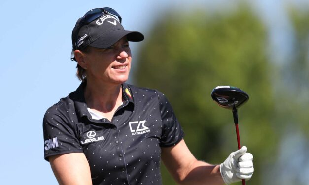 1 important mental strategy Annika Sorenstam has learned as she's matured