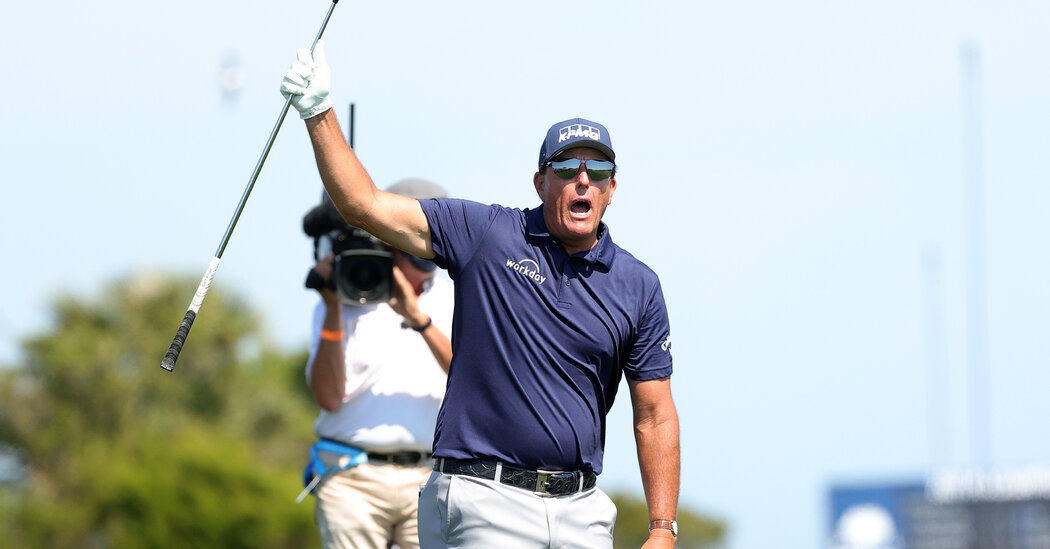 Phil Mickelson Wins the P.G.A. Championship