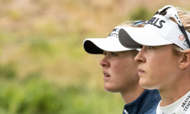 At the U.S. Women's Open, Jessica and Nelly Korda's First Rounds Diverge