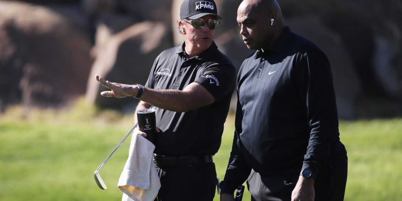 'Phil is that annoying friend': Charles Barkley roasts Phil Mickelson